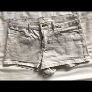Abercrombie and Fitch grey shorts